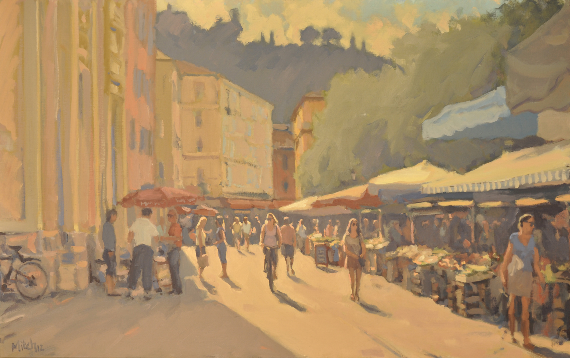 Cours Saleya, Nice, Morning light