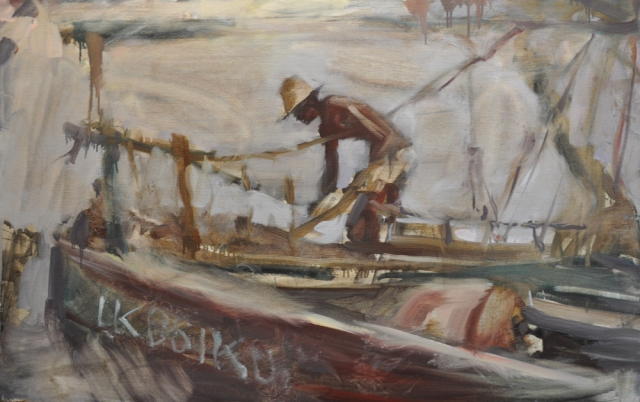 Mombasa boat yard