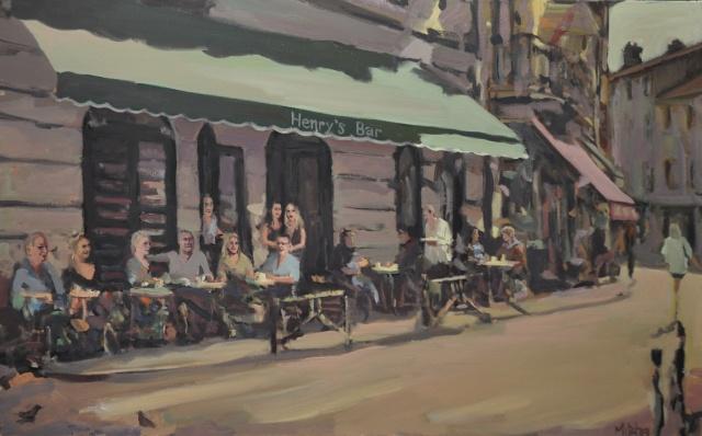 Henry's Bar with Bornefeld Family